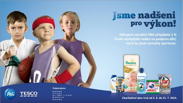 Česká olympijská nadace pomáhá dětem sportovat