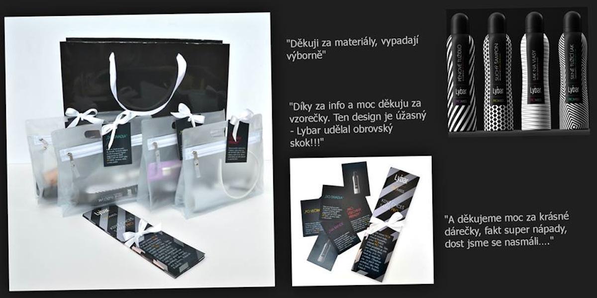 OgilvyOne navrhla design produktu Lybar Promiss a stála za distribucí vzorku novinářkám
