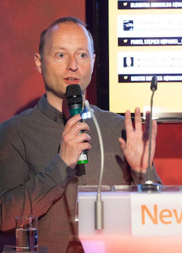 Mark Waugh, globální marketingový ředitel Newcastu. Foto: Jarda Šícha