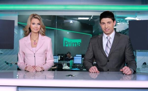 Roman Fojta na Primě tvořil moderátorskou dvojici se Sandrou Parmovou. Foto: TV Prima