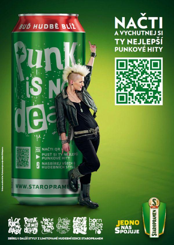 Plechovky představí šest hudebních stylů, včetně punku