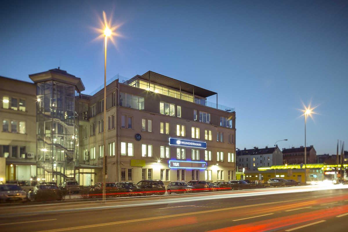 Pražské sídlo agentury Wunderman