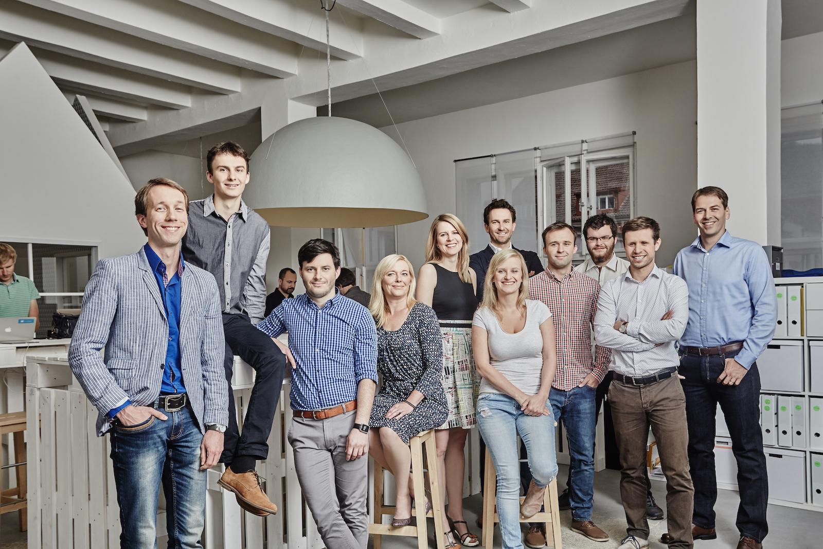Tým startupu Zonky. Foto: David Turecký