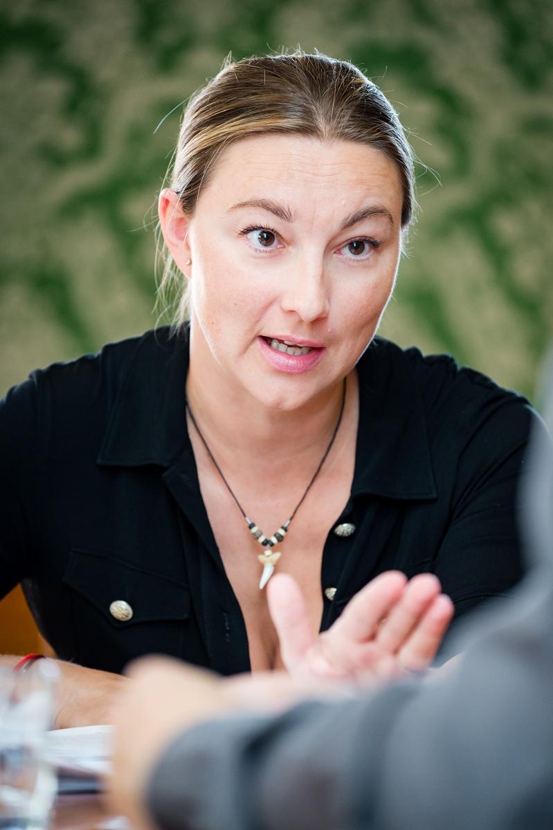 Kateřina Kalistová. Foto: Vojta Herout