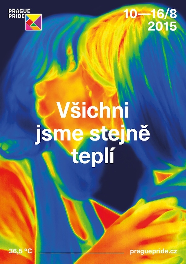 Plakát festivalu Prague Pride