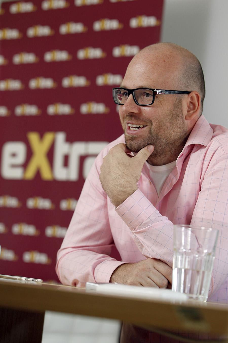 Tomáš Kačena, ředitel a spolumajitel vydavatelství Extra Online Media. Foto: Jiří Koťátko