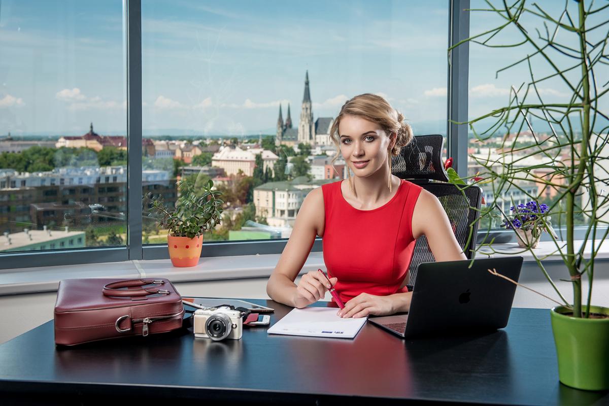 Nová šéfredaktorka Profashion Gabriela Franková. Foto: Lukáš Navara