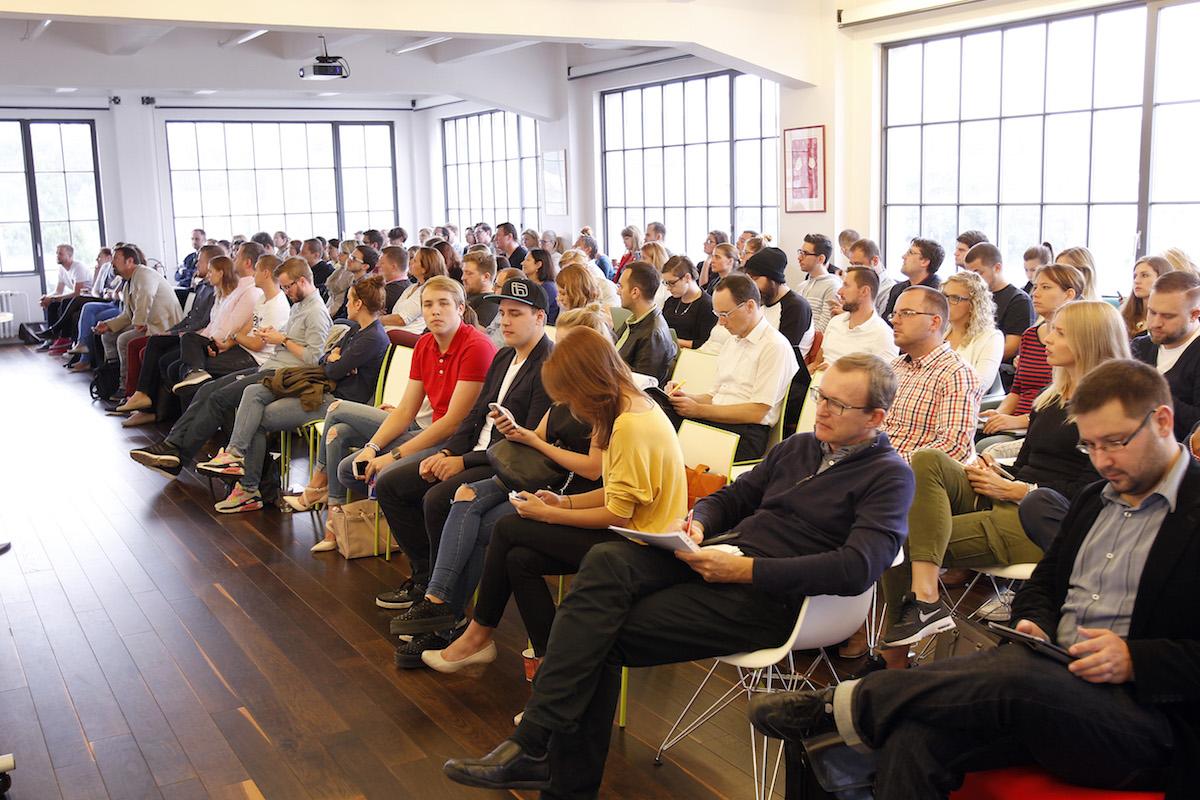 Publikum akce. Foto: Jiří Koťátko