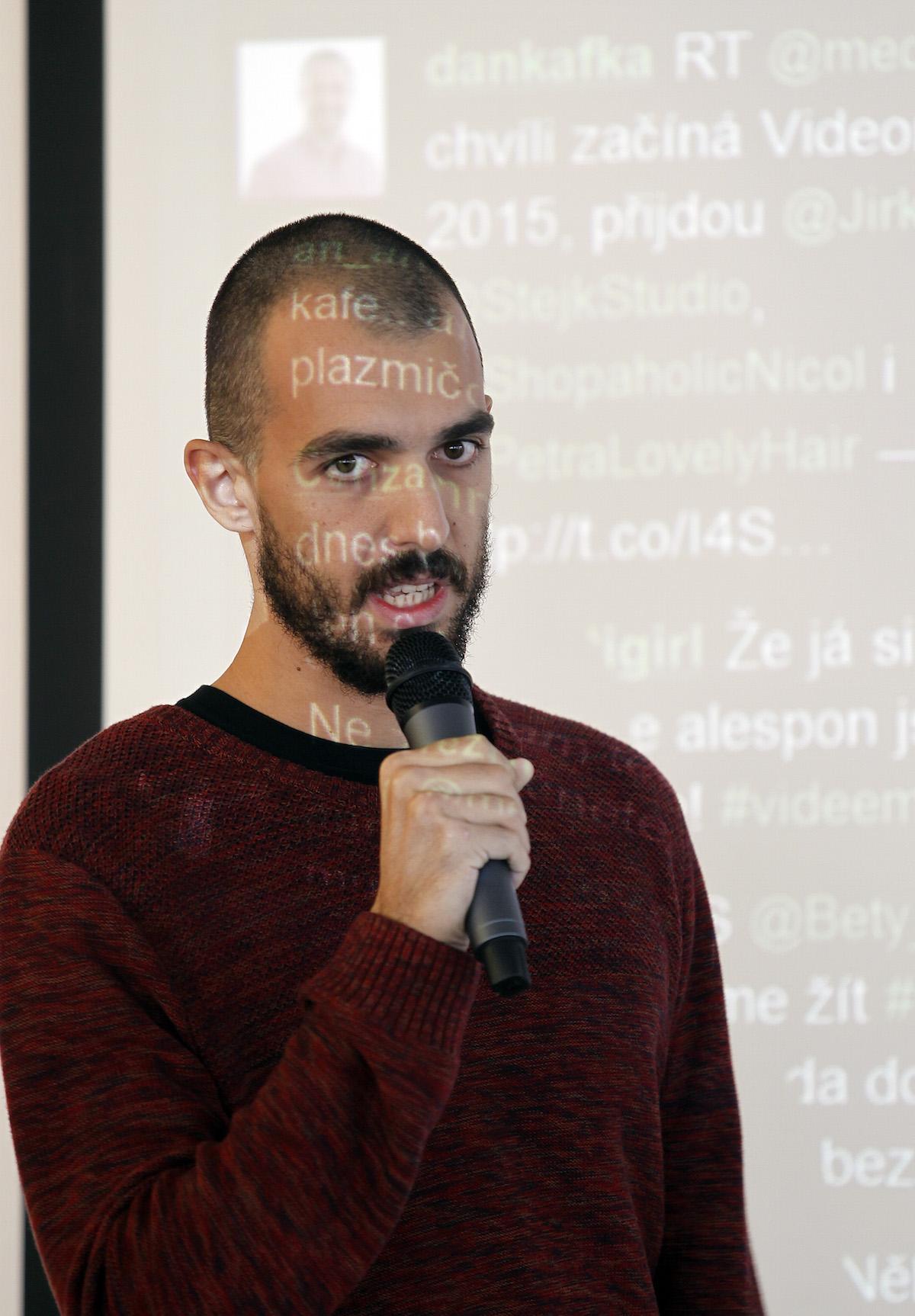 Tomáš Gavlas z Get Boostu. Foto: Jiří Koťátko