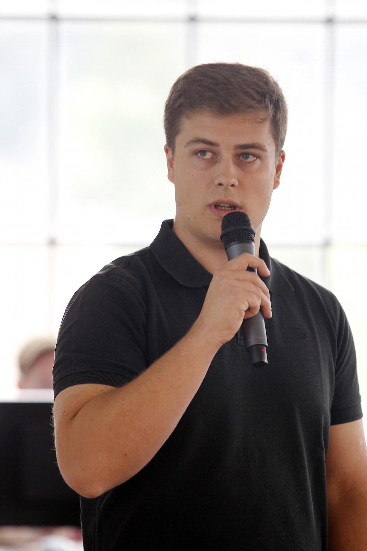 David Růžička z Get Boostu. Foto: Jiří Koťátko