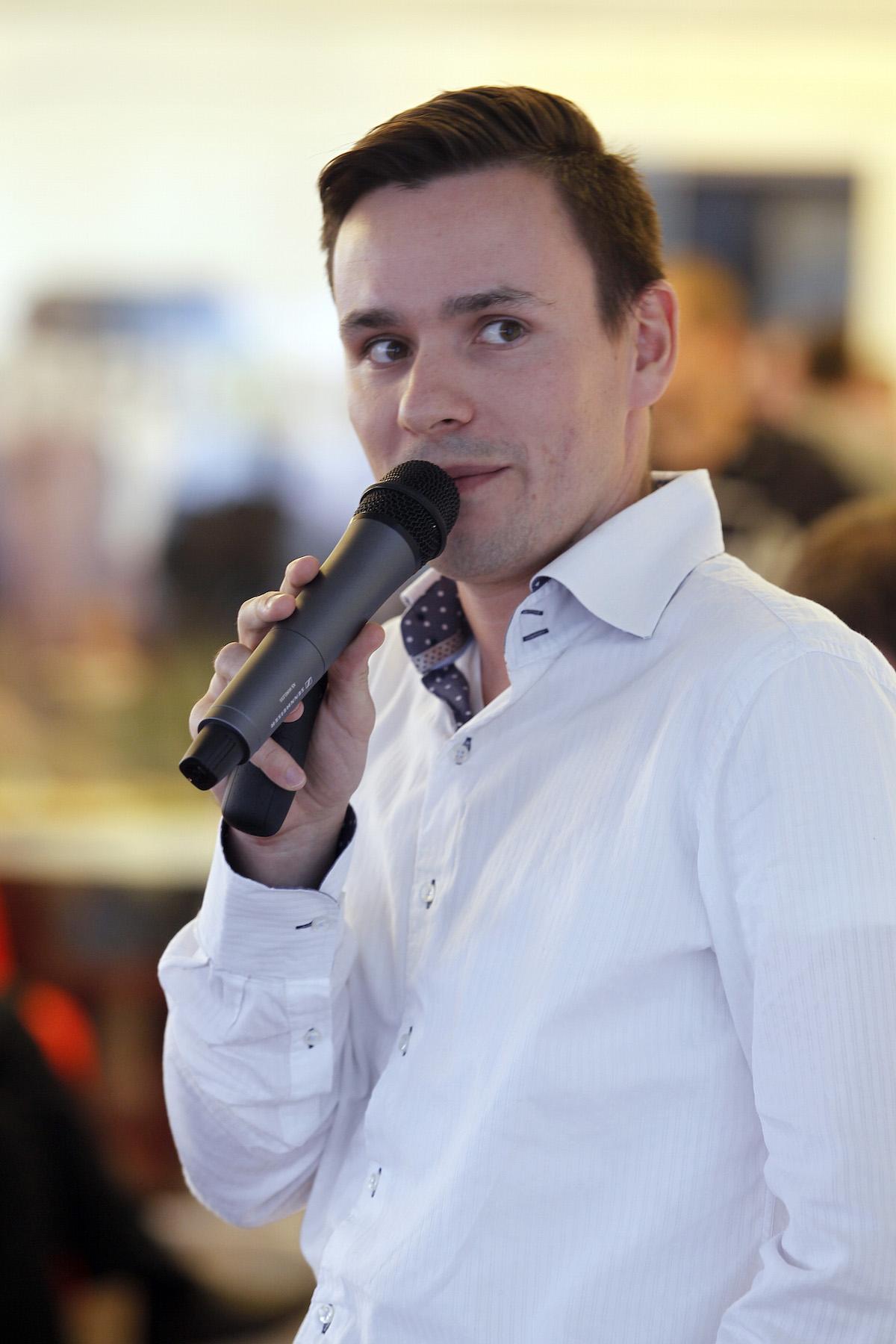 Tomáš Vaněk z L´Oréalu na konferenci Videomarketing 2015. Foto: Jiří Koťátko