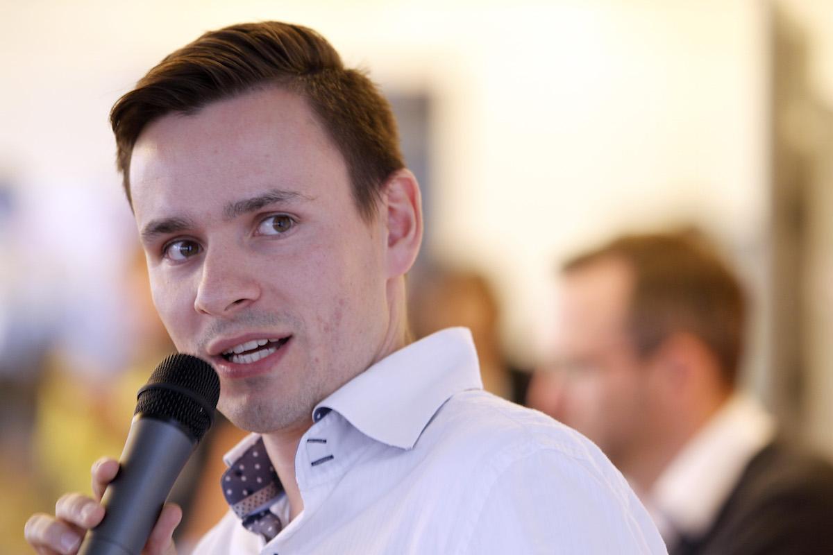 Tomáš Vaněk z L'Oréalu. Foto: Jiří Koťátko