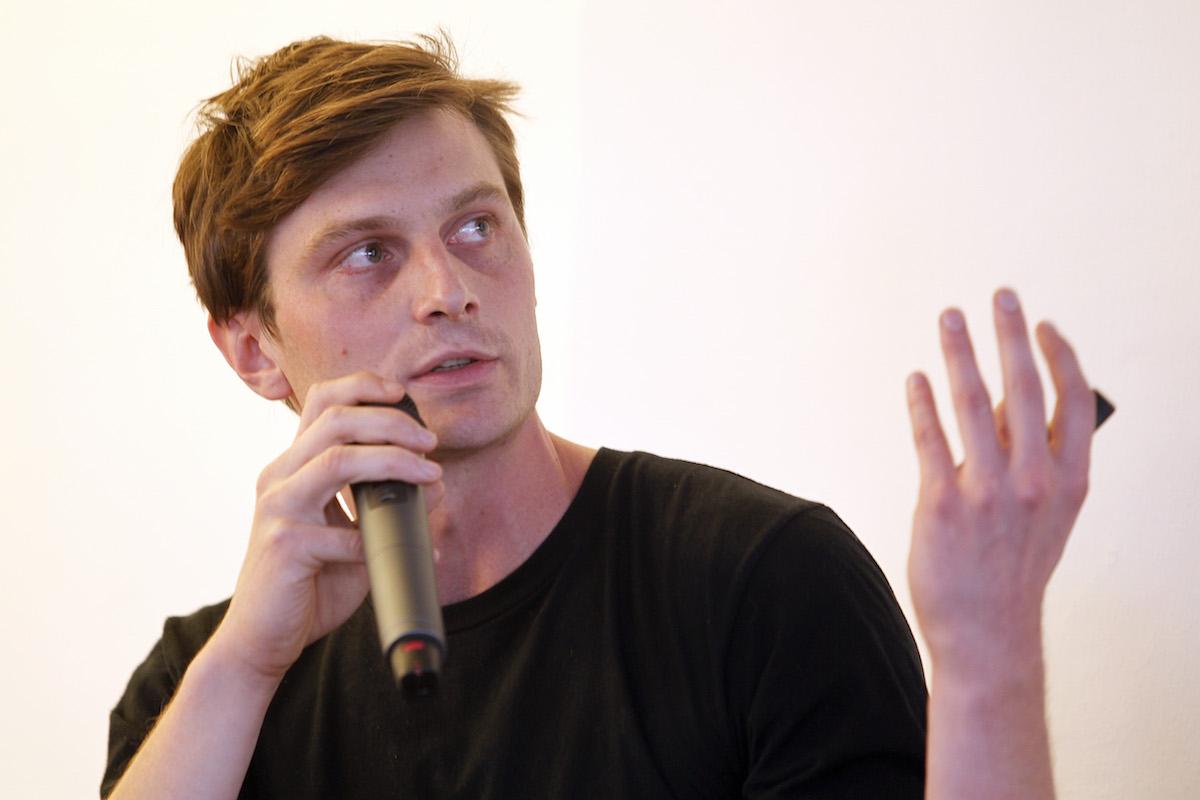 Jáchym Jakeš z interní agentury O2 Nydrle + Semelak. Foto: Jiří Koťátko
