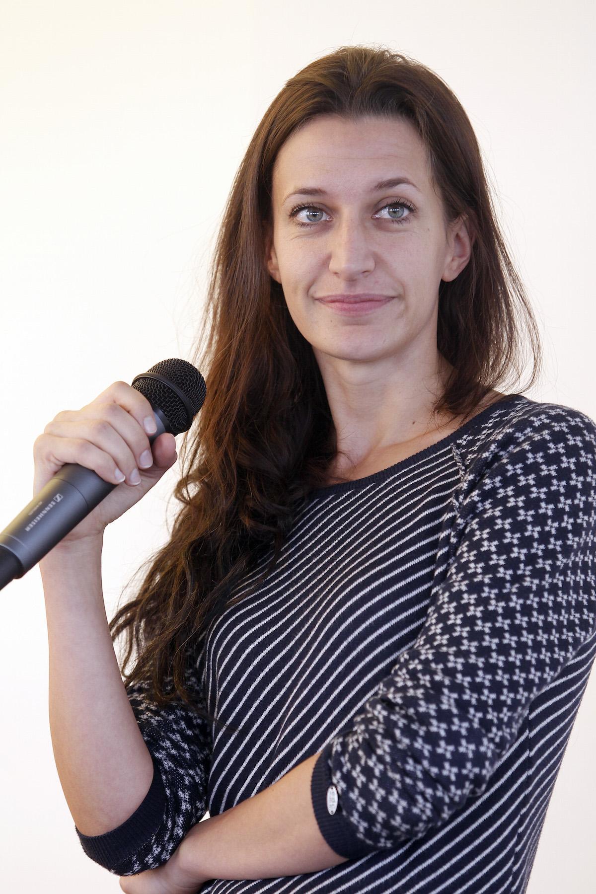 Božena Řežábová. Foto: Jiří Koťátko