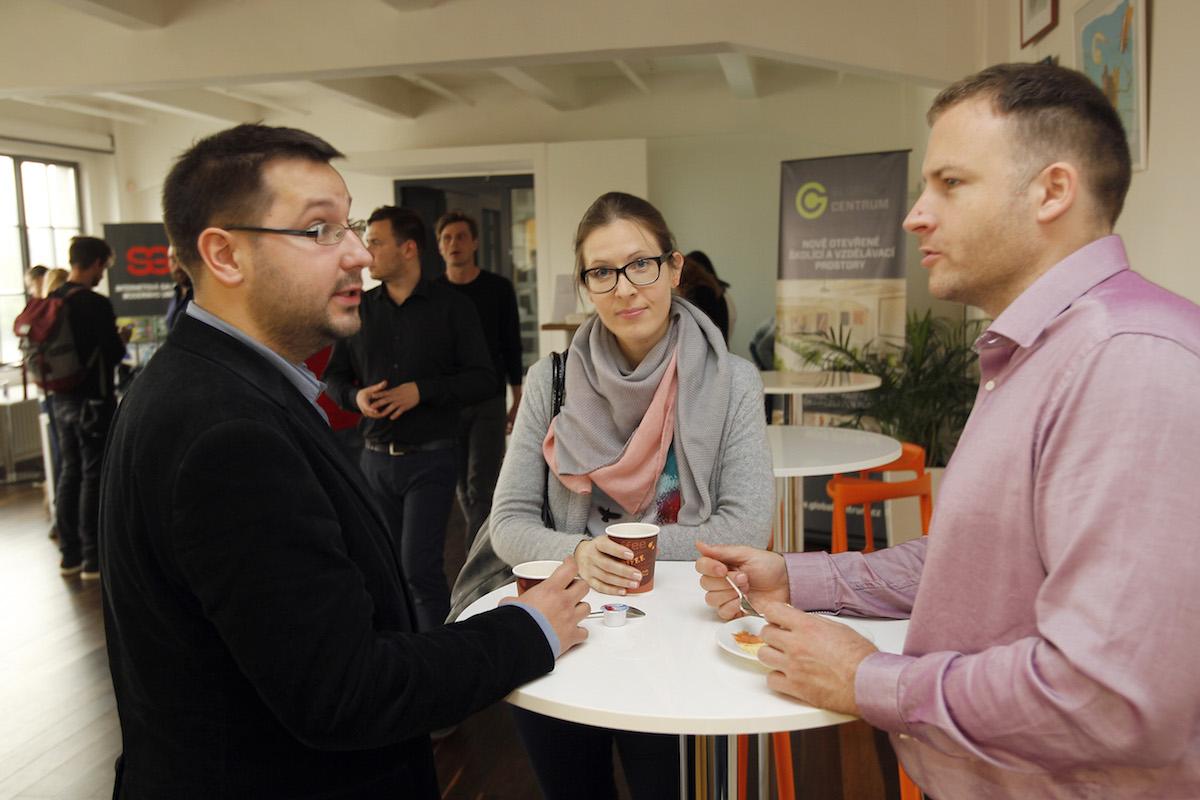 Martin Jedlička s kolegy. Foto: Jiří Koťátko