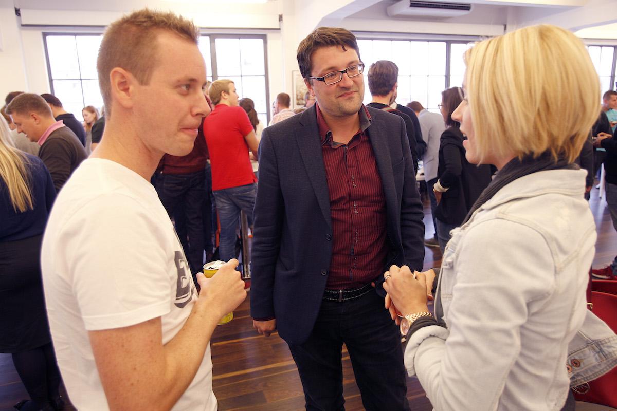 Tomáš Jindříšek s kolegy. Foto: Jiří Koťátko