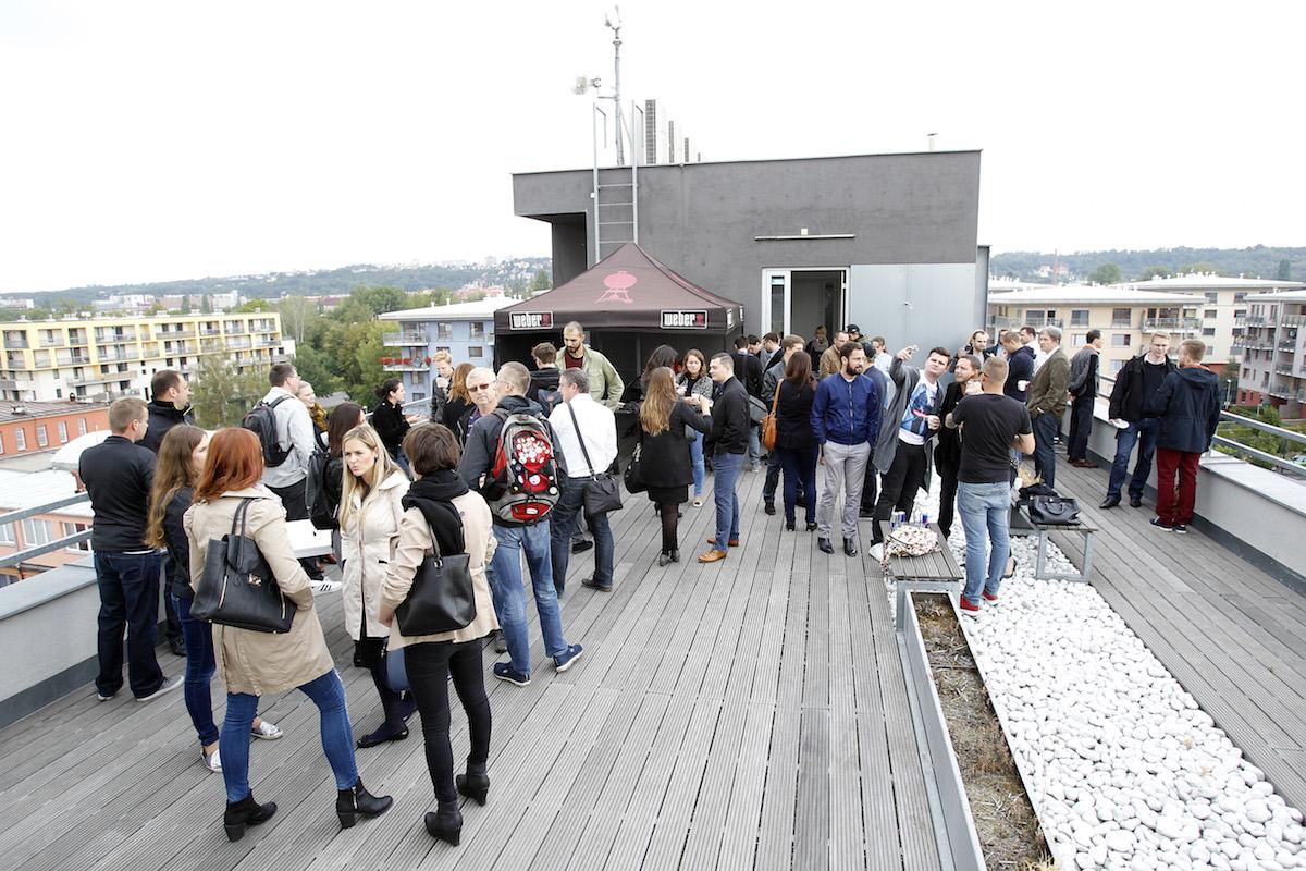 Grilování na střeše s grily Weber. Foto: Jiří Koťátko