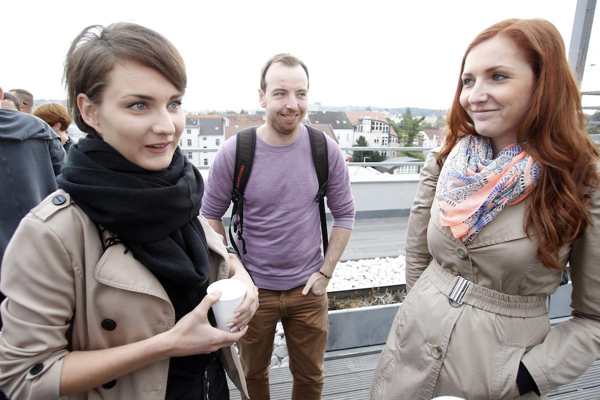 Vlevo Kateřina Černická ze Starcomu. Foto: Jiří Koťátko