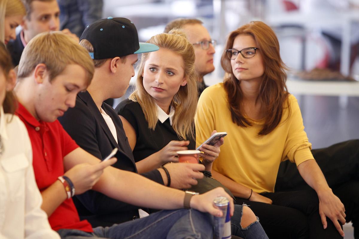 Zleva Jiří Král, Stejk, Nikola Čechová, Andrea Hurychová. Foto: Jiří Koťátko