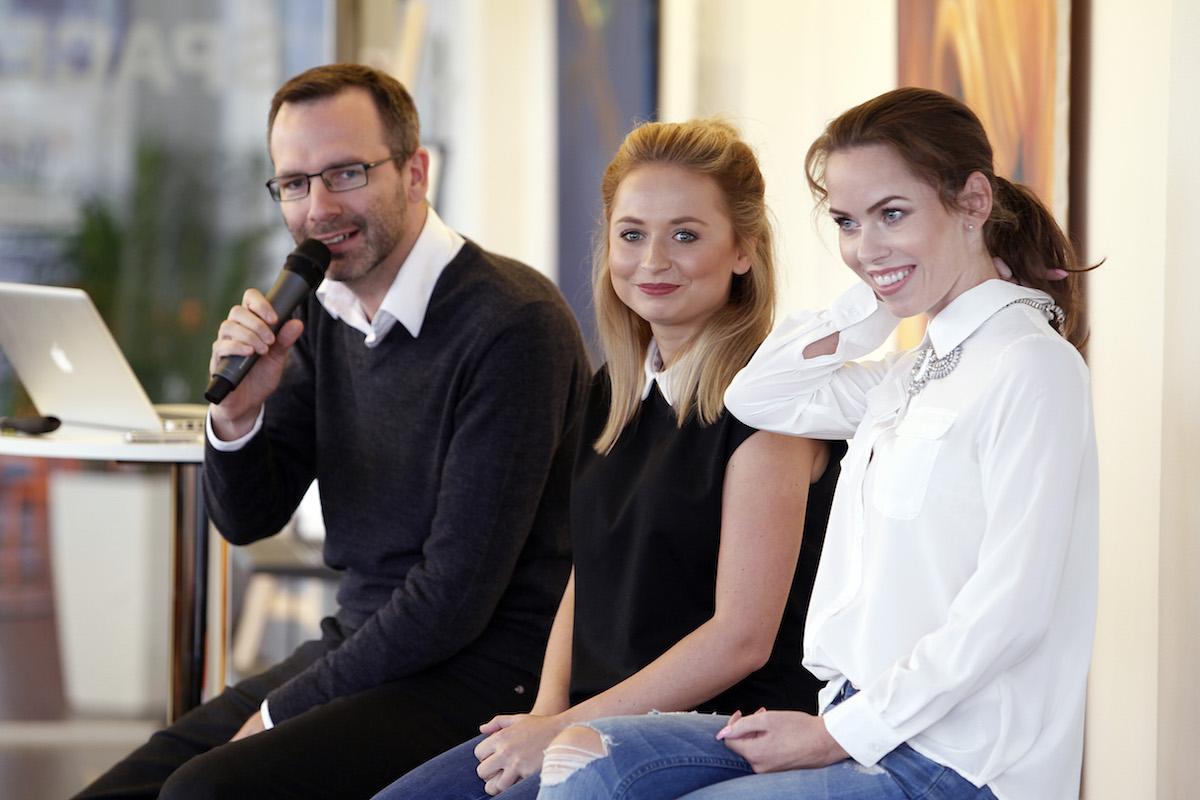 Diskuse s youtubery, na majku Ondřej Aust. Foto: Jiří Koťátko