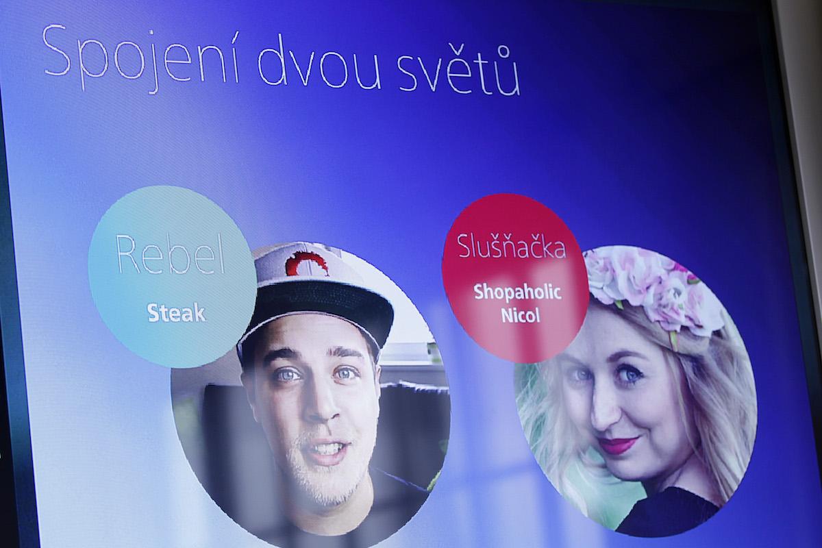 Z prezentace Daneše a Jakeše z O2. Foto: Jiří Koťátko