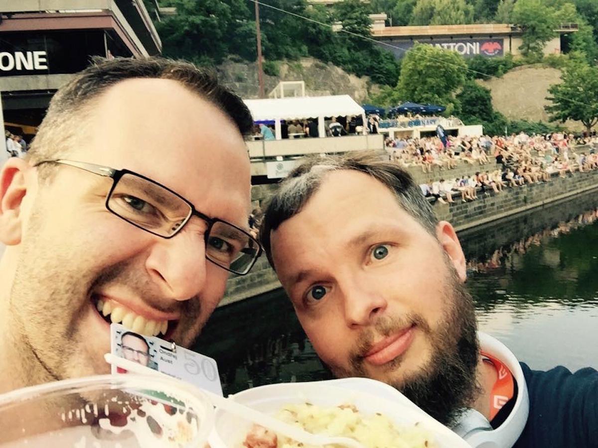 Festivalové jídlo, festivaloví lidé