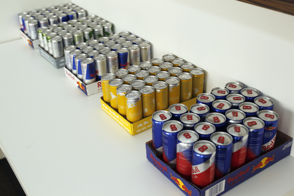 Občerstvení dodal Red Bull. Foto: Jiří Koťátko