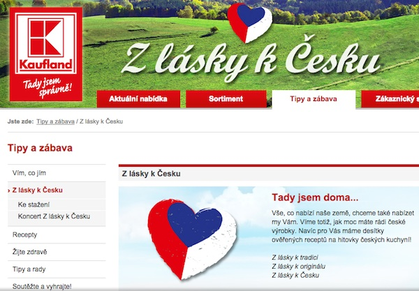 Srdce z české vlajky podle rady kodexu neodporuje