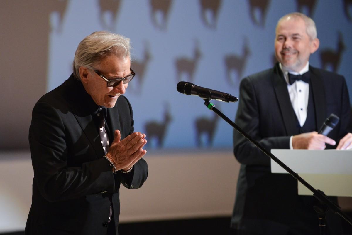 Harvey Keitel a Marek Eben. Foto: Film Servis Festival Karlovy Vary