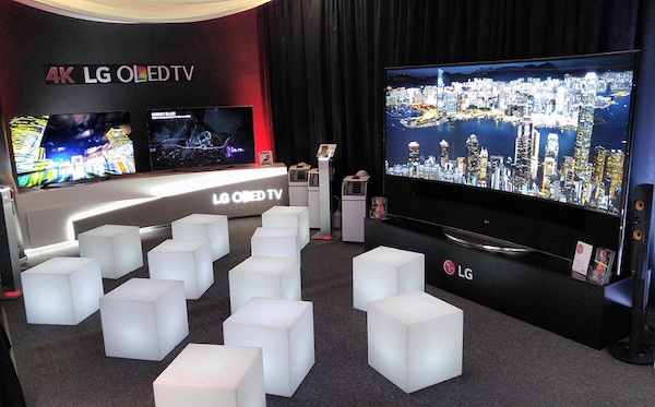 Výrobce elektroniky LG obsadí část hotelu Thermal. Foto: LG