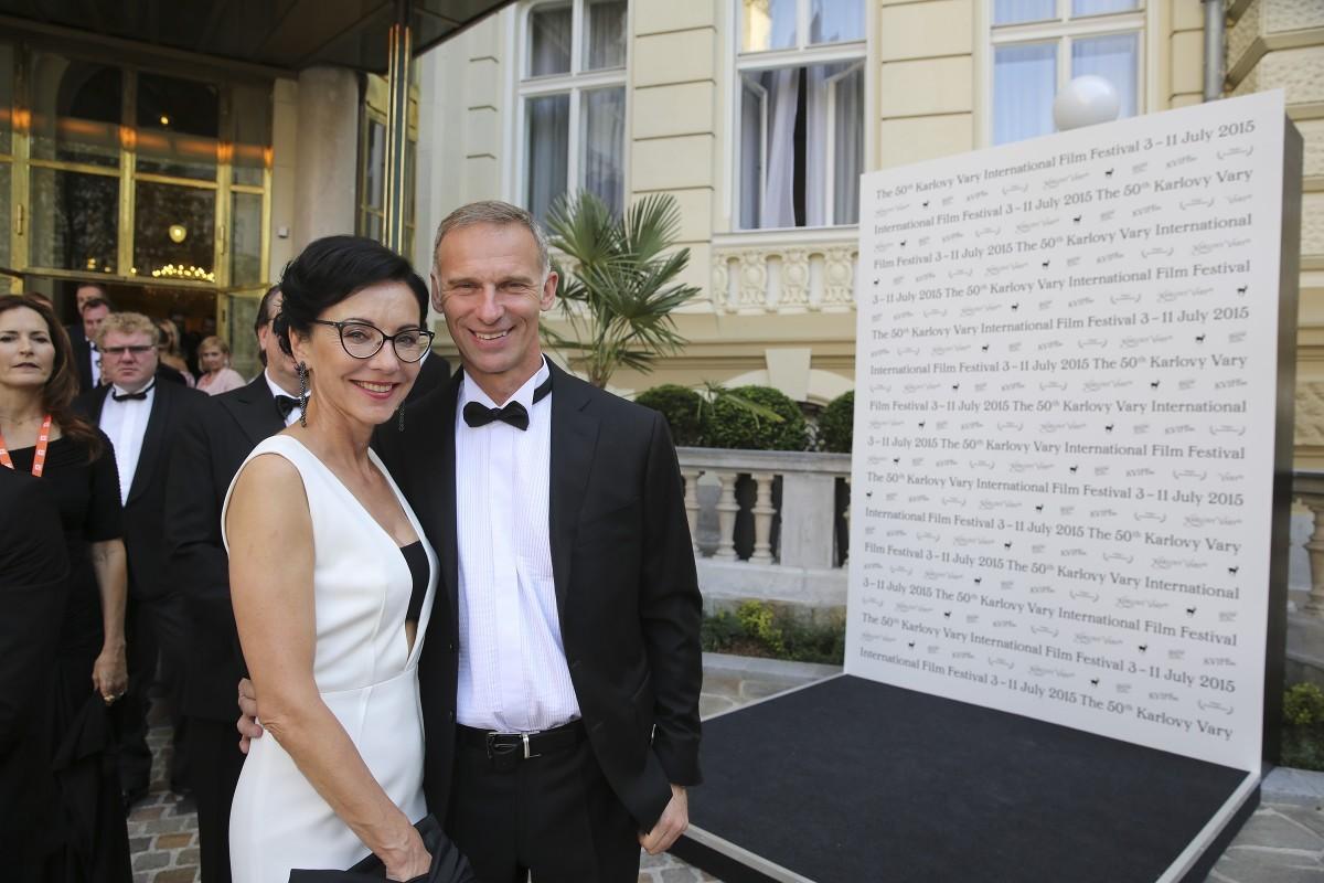 Přijela marketingová hvězda z největších, tvůrce Smartyho Dominik Hašek. I s ním jsme mluvili, o tom příště. Foto: Film Servis Festival Karlovy Vary