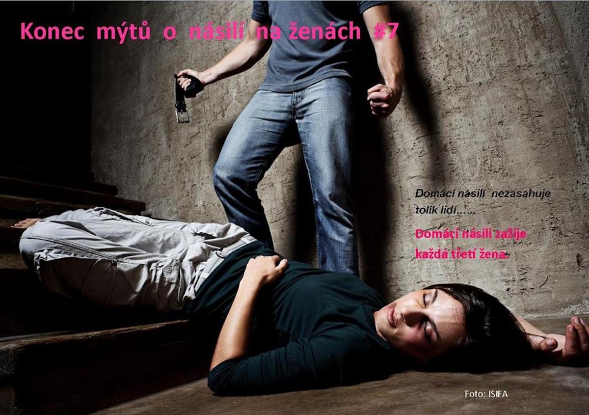 Kampaň neziskové organizace Rosa proti domácímu násilí