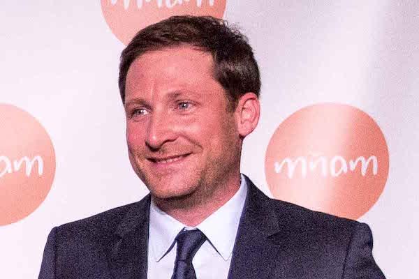 Pál Milkovics na červnové tiskové konferenci Mňam TV. Foto: CE Media