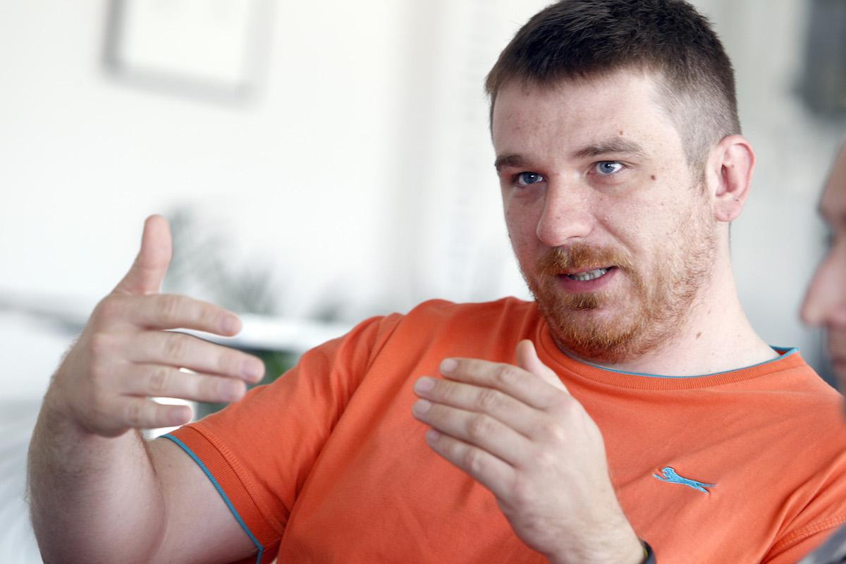 Peter Sládeček. Foto: Jiří Koťátko