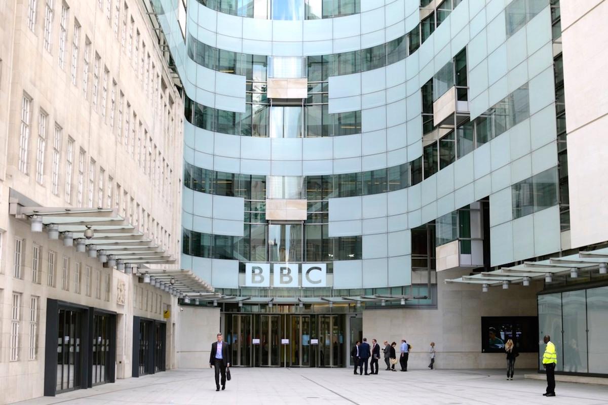 Budova BBC v Londýně. Foto: Profimedia.cz