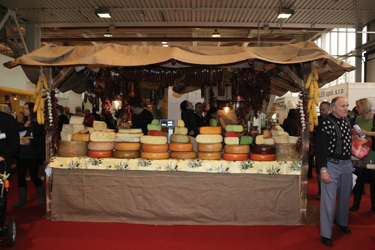 Projekt Regionální potravina se často prezentuje na výstavách a veletrzích. Ilustrační foto Incheba.cz