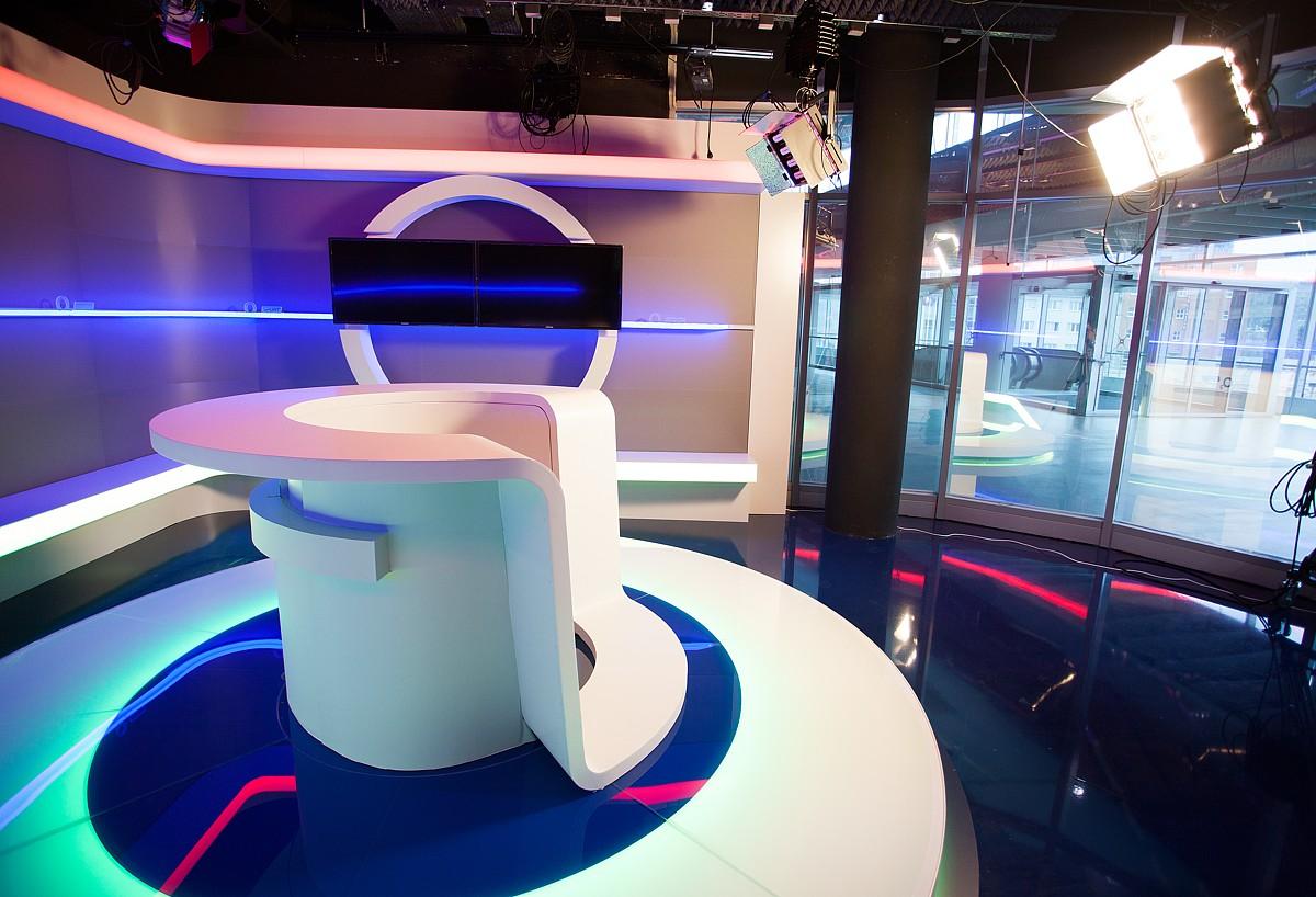 Studio O2 Sport v pražské O2 Aréně