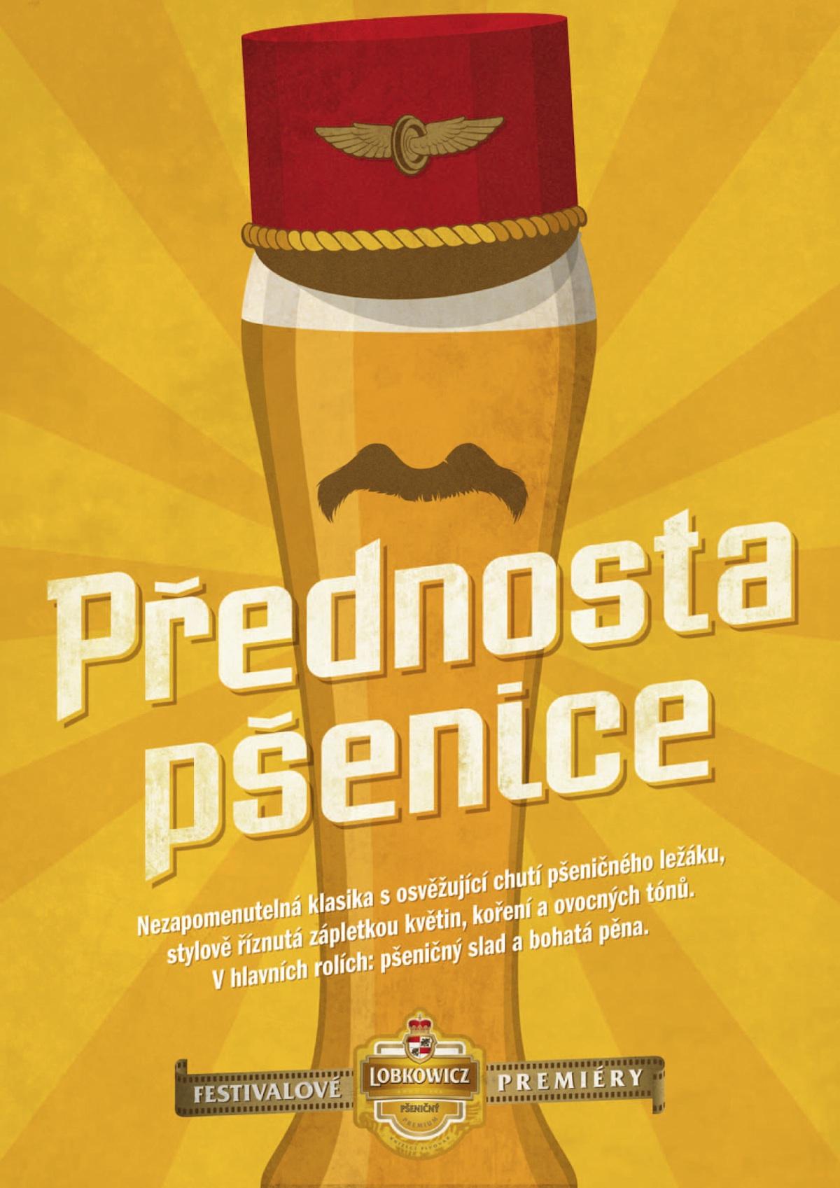 Prémiové pivo Lobkowicz coby filmový hrdina