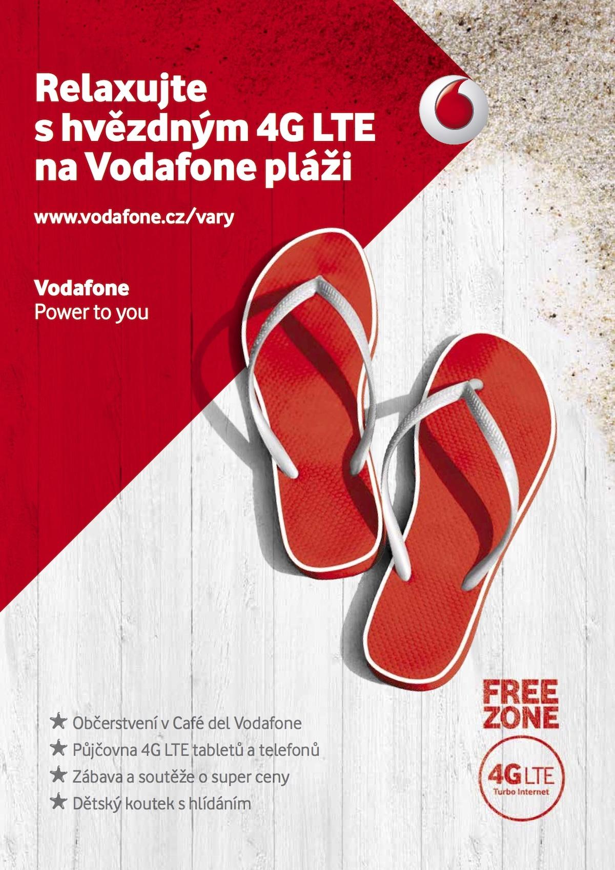 """Vodafone opět láká na svou """"pláž"""""""