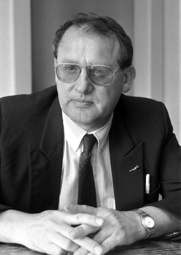 Zdeněk Porybný, dlouholetý šéfredaktor a majitel Práva, zde na archivní fotografii z roku 1992. Foto: ČTK