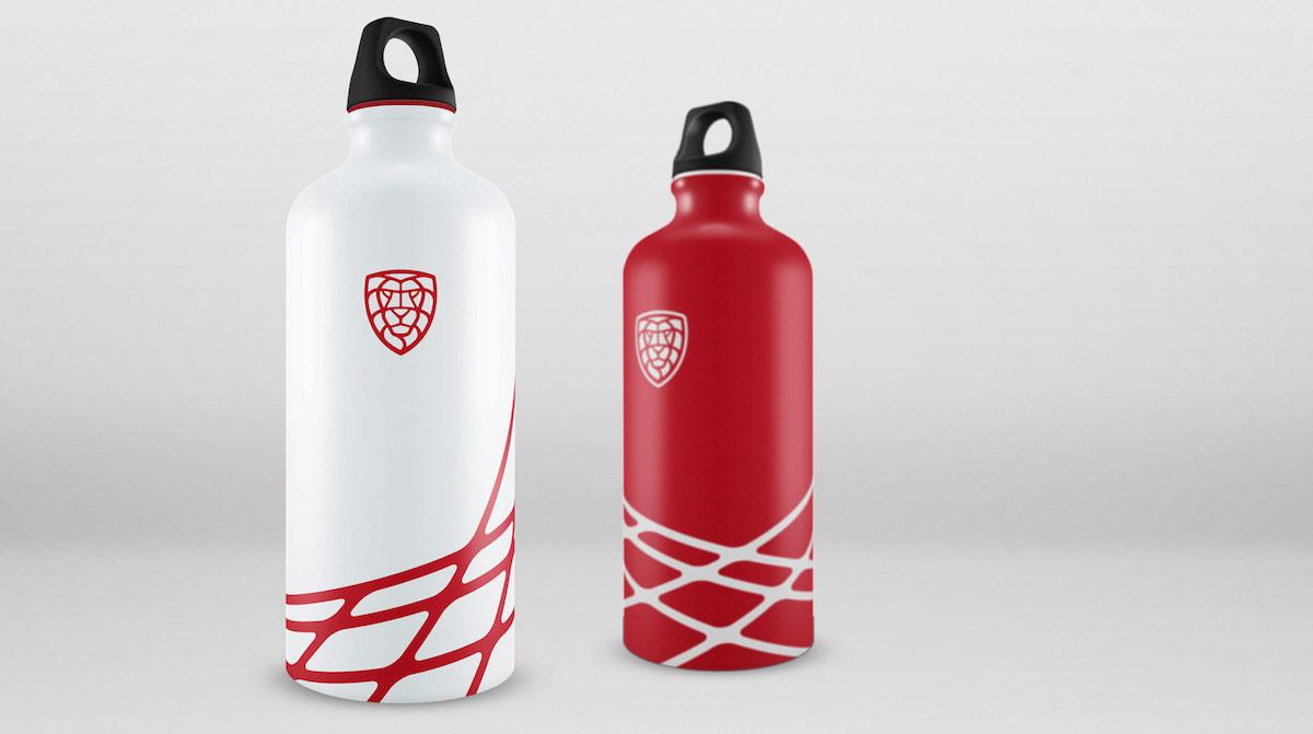 Nové logo florbalu v Česku: lahve