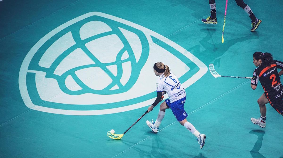 Nové logo florbalu v Česku: podlahovka