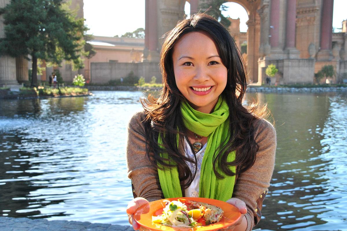 Moderátoka Ching má svůj pořad Snadná Čína. Foto: Food Network