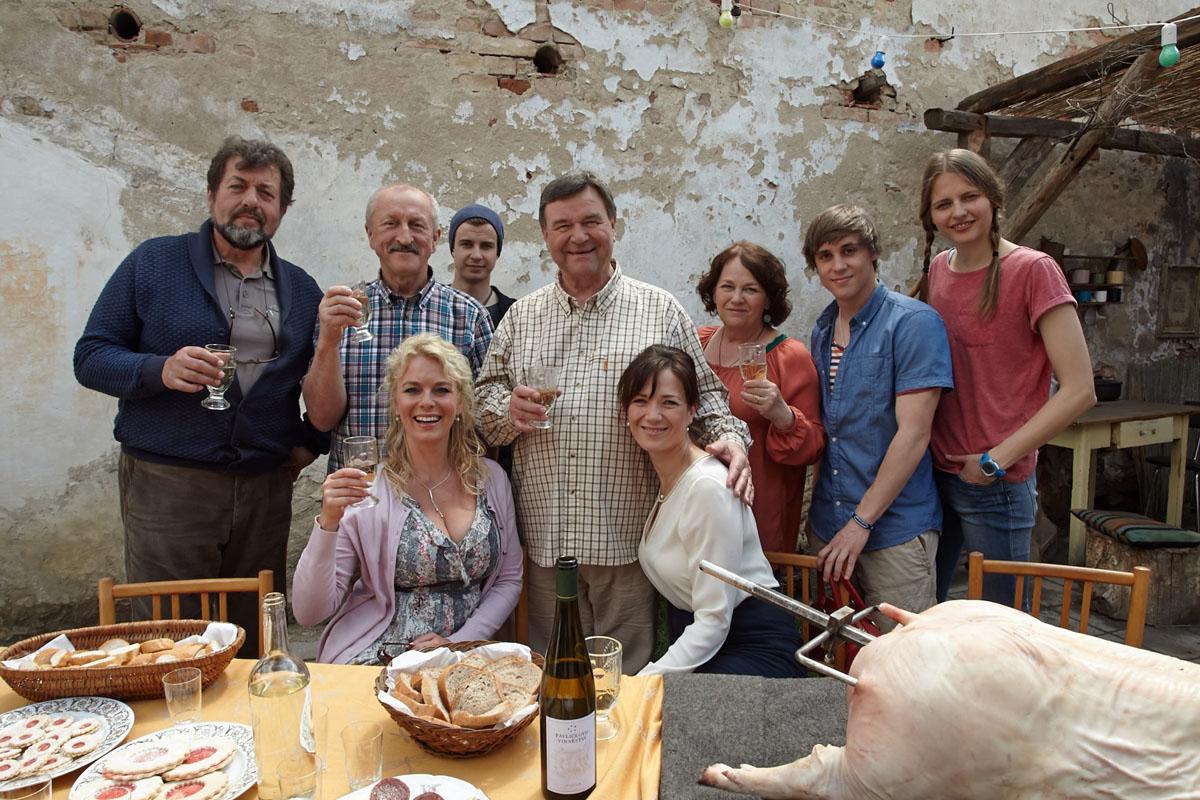 Seriál Vinaři bude mít pokračování. Foto: TV Prima