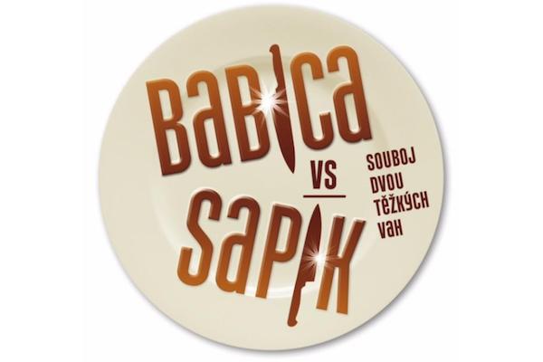 Logo nového pořadu Babica vs Sapík
