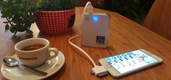 Zařízení dobíjí mobily i tablety