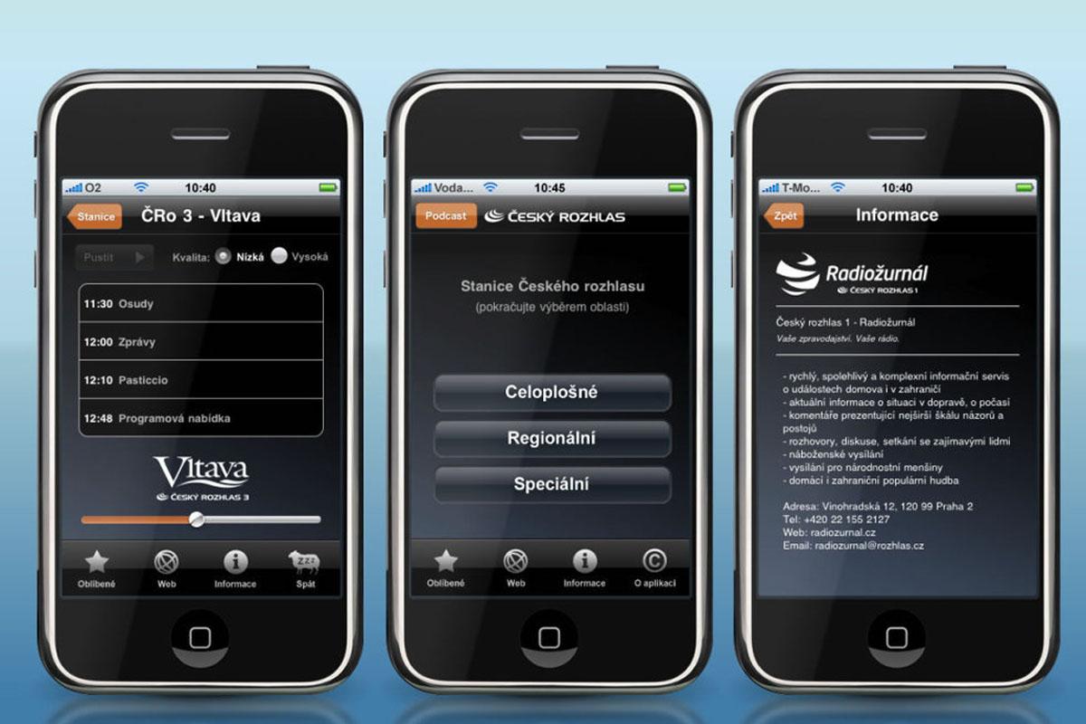 Aplikace iRadio