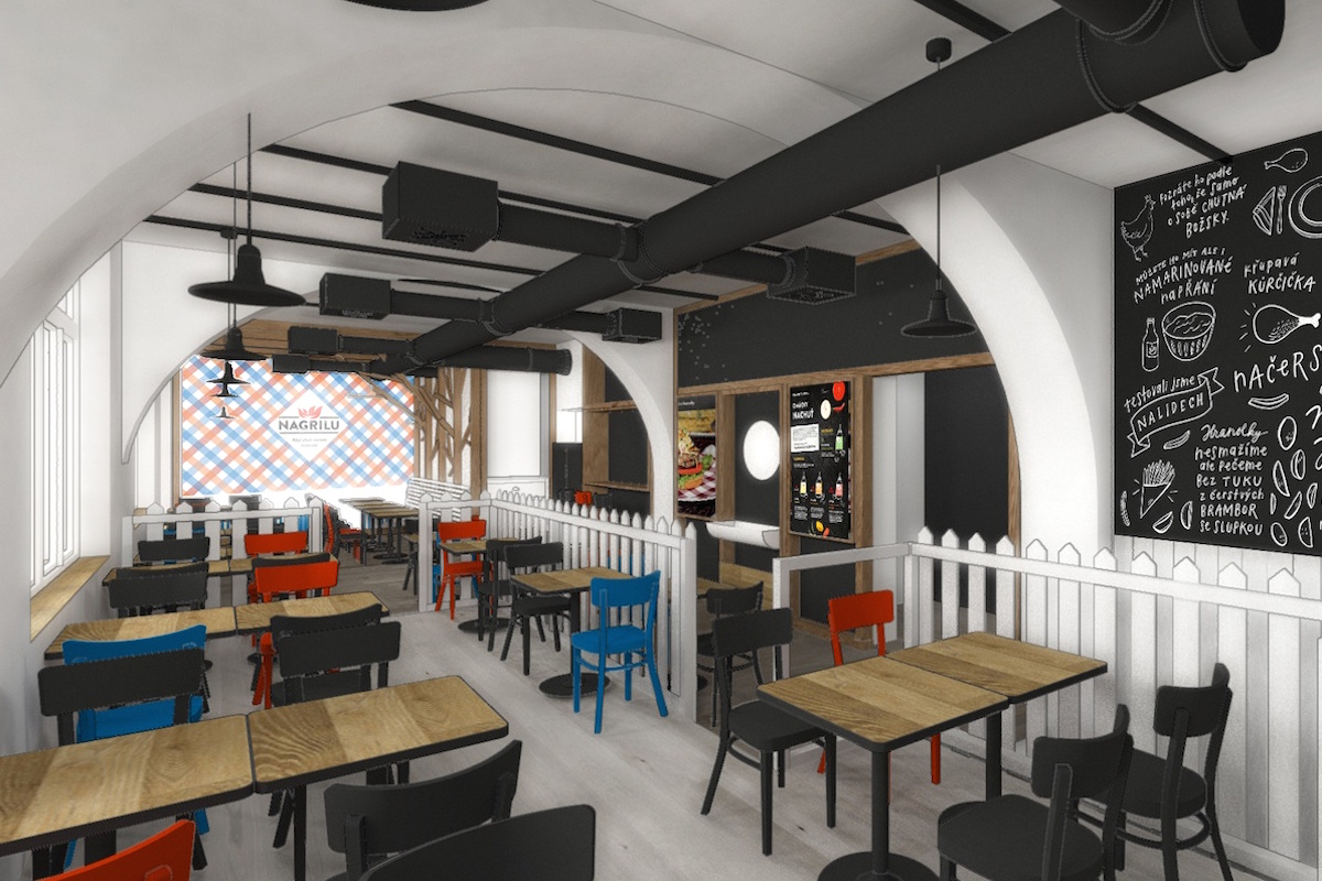 První restauraci otevírá Kofola dnes v pražské Jindřišské ulici
