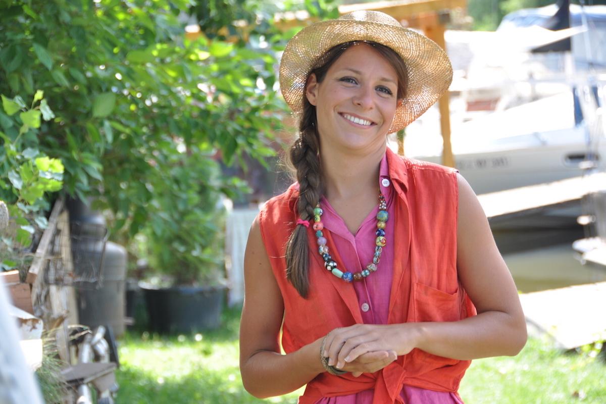 Veronika Kubařová v komediálním seriálu Na vodě. Foto: TV Nova