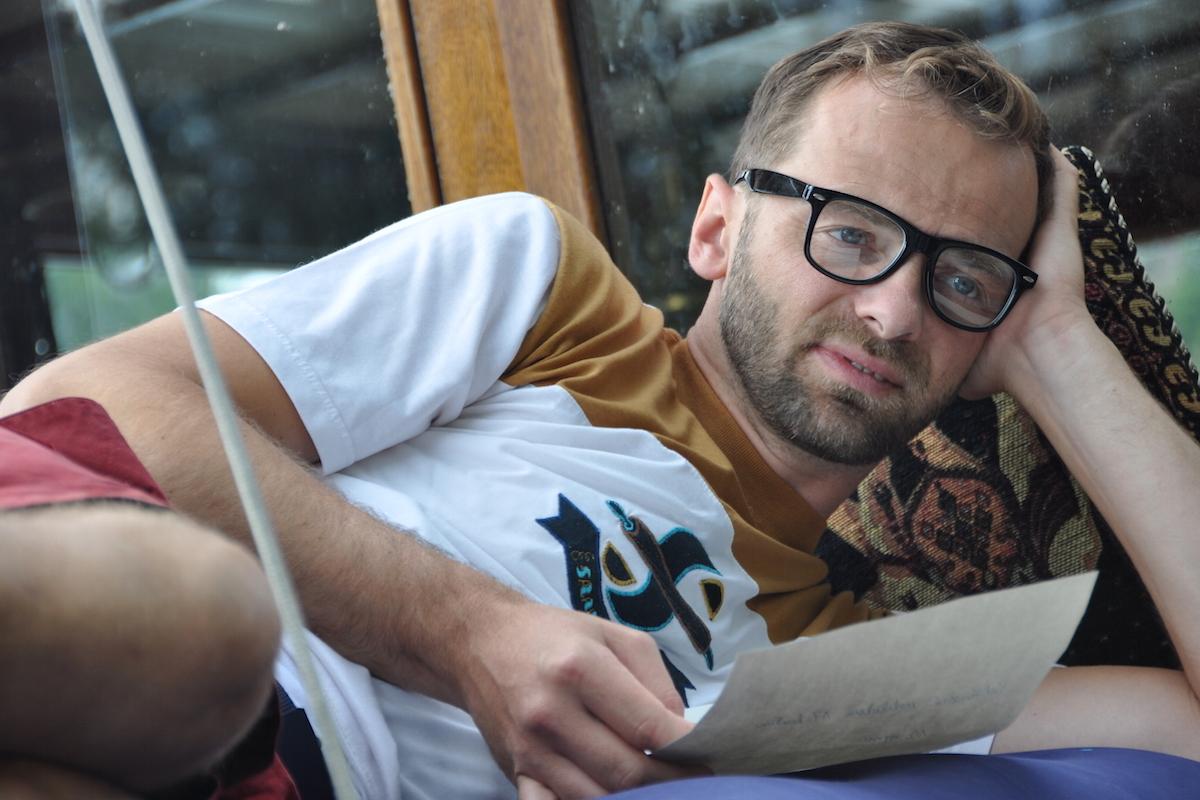 Lukáš Langmajer v komediálním seriálu Na vodě. Foto: TV Nova